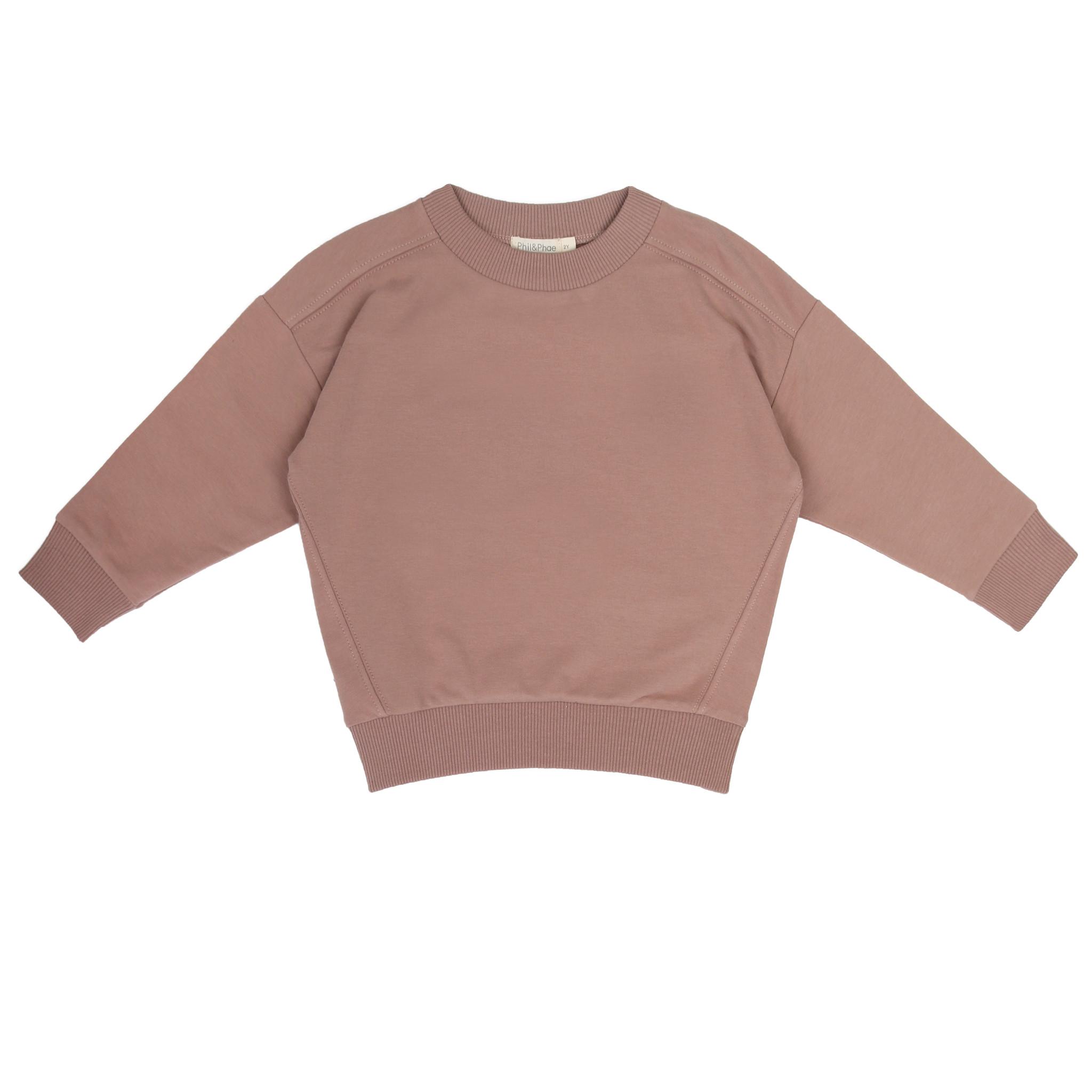 Oversized sweater - Powder-1