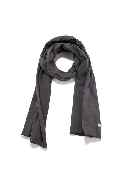 Basic scarf - Graphite