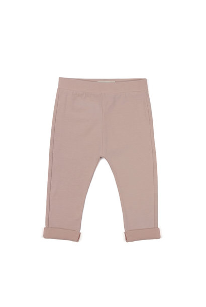 Basic jersey pants - Vintage Blush