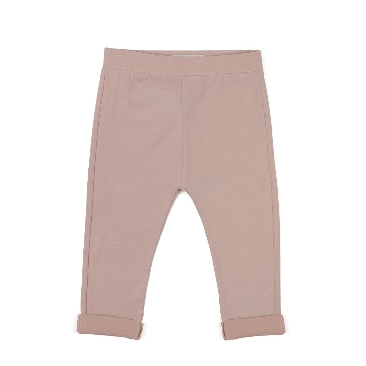 Basic jersey pants - Vintage Blush-1