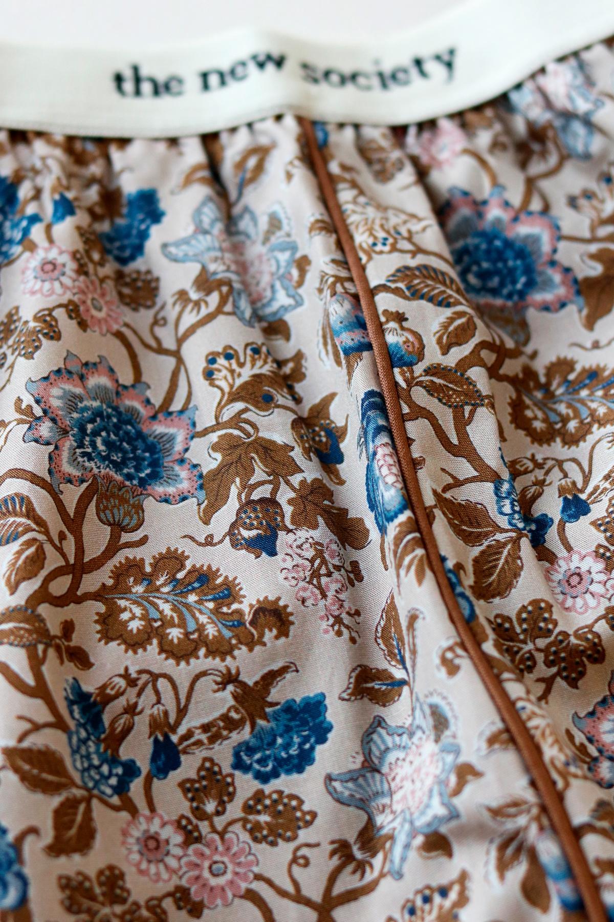 Luisa pants - Vintage Flower-3