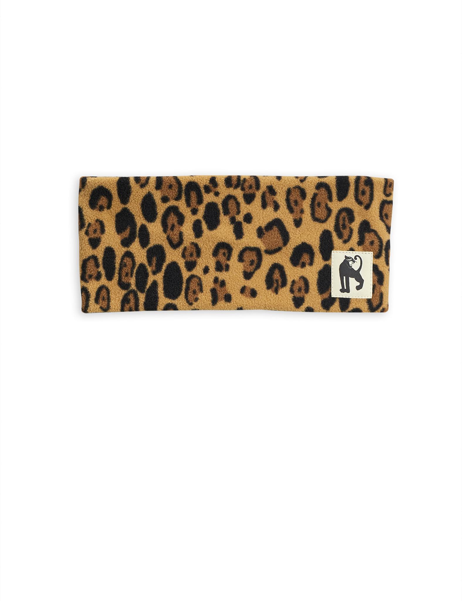 Fleece hairband - Beige-1