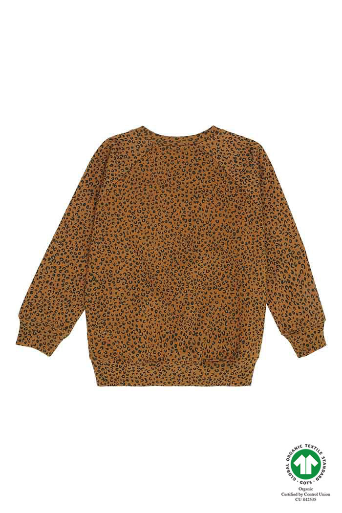 Chaz sweatshirt - Golden Brown Leopspot-2