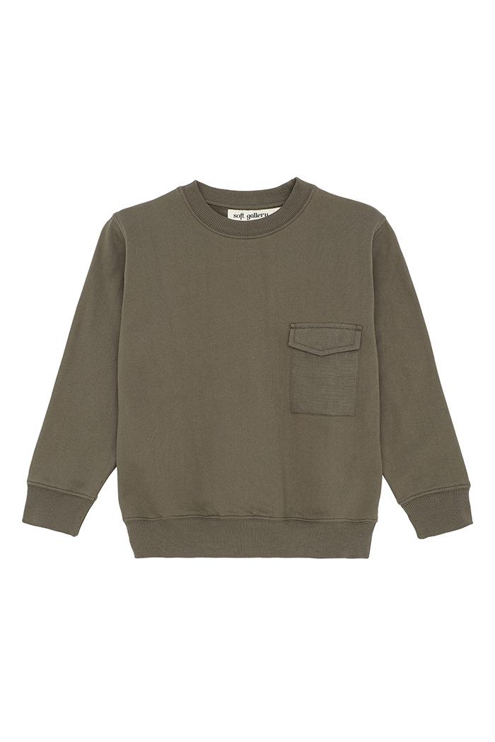 Baptiste sweatshirt - Olive Night-1