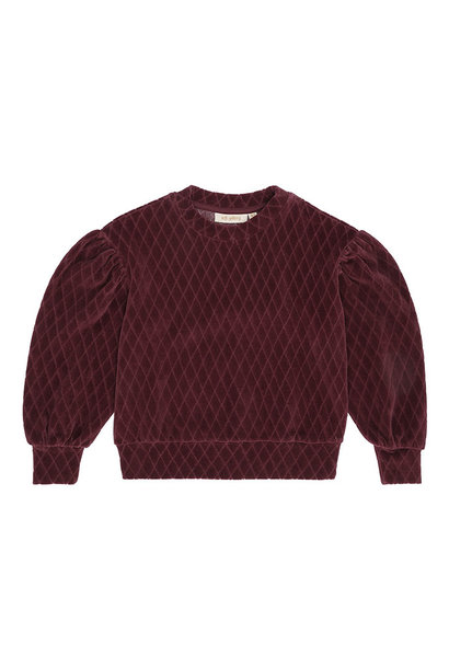 Geneva sweatshirt - Rose Brown