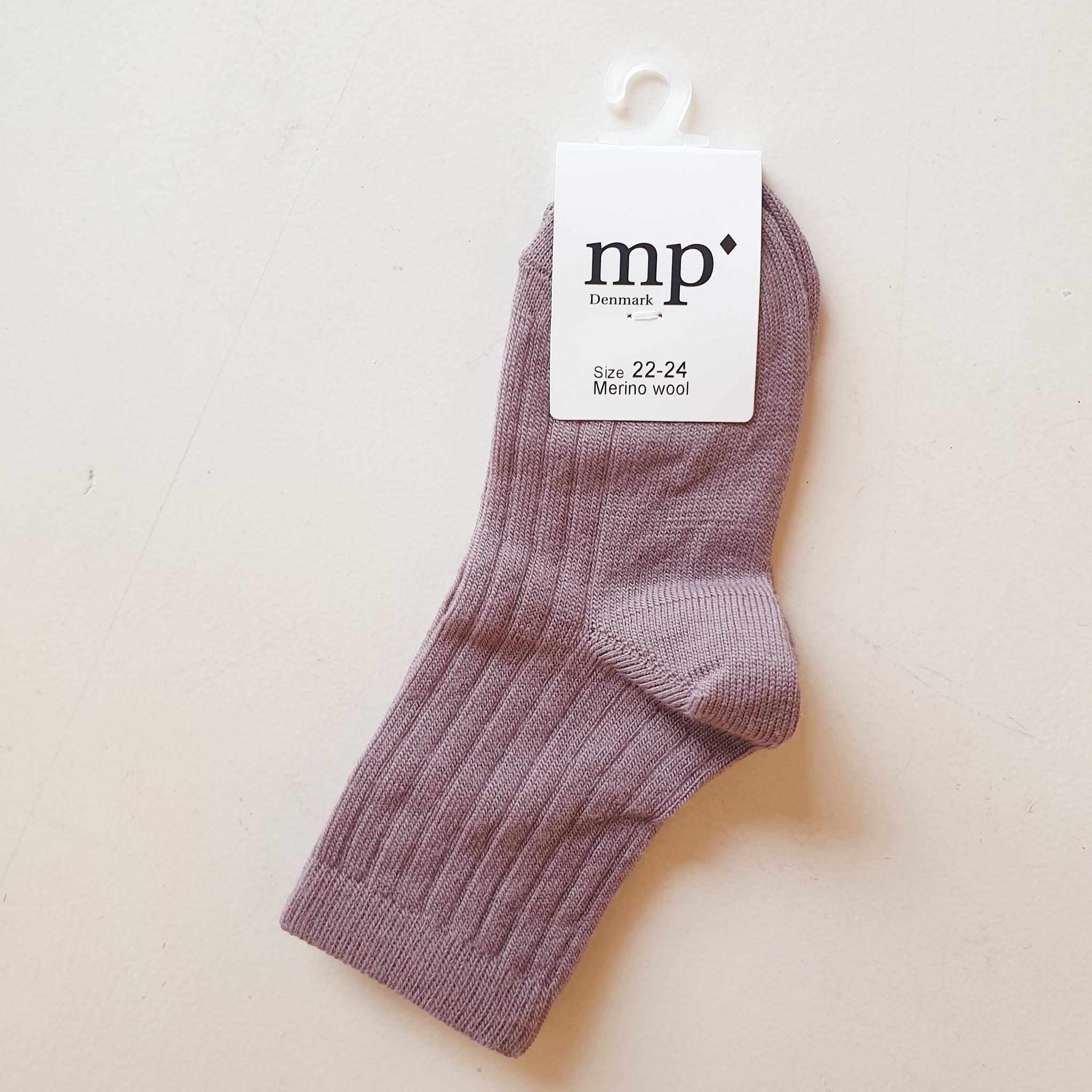 Socks - Plum-1