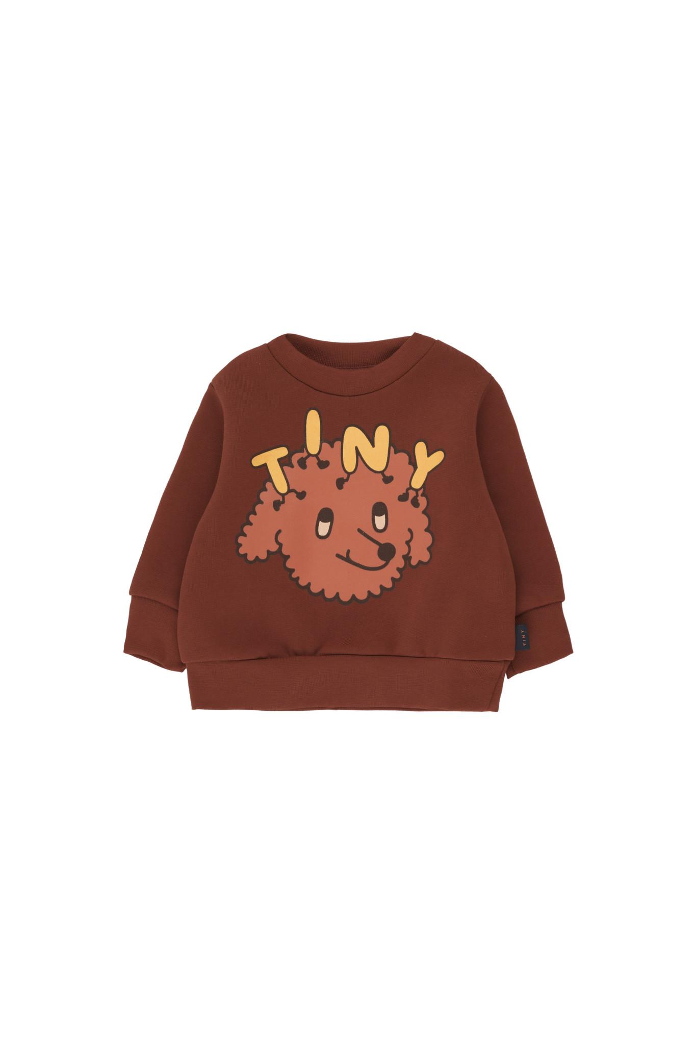 Tiny Dog sweatshirt - Dark Brown / Sienna-1