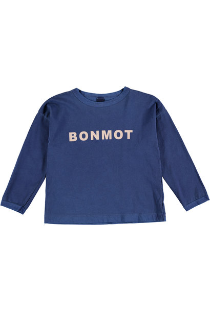 T-shirt longsleeve - Bonmot Sea Blue