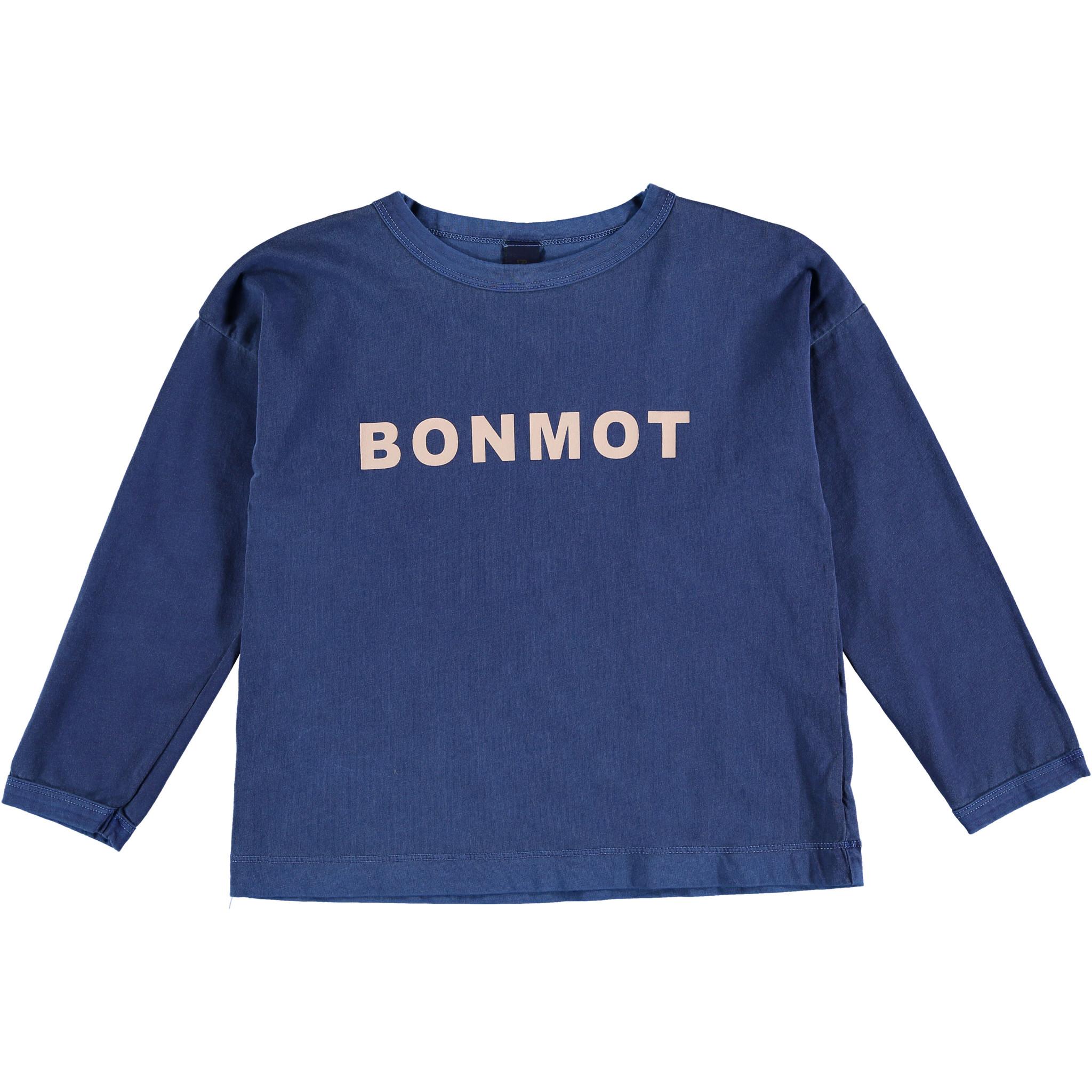 T-shirt longsleeve - Bonmot Sea Blue-1