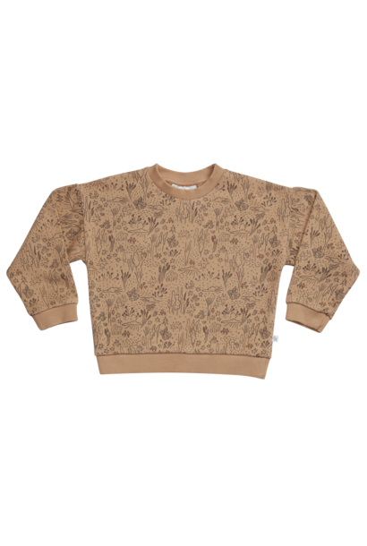 Sweater - Autumn Forest Almond