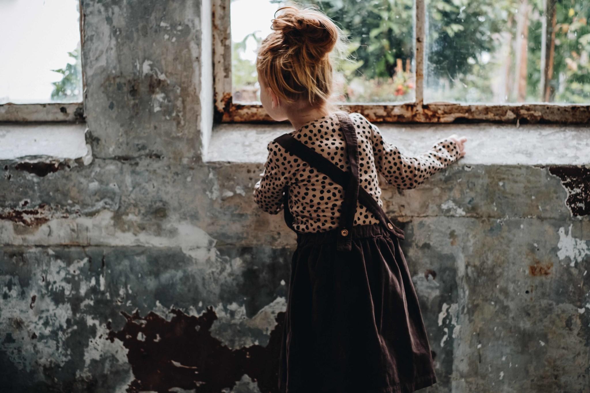 Suspender skirt - Dark Chocolate-2