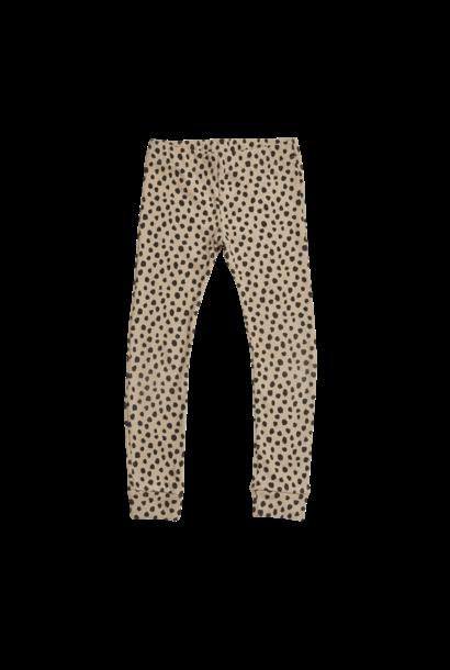 Legging kid - Animal Dot Warm Sand