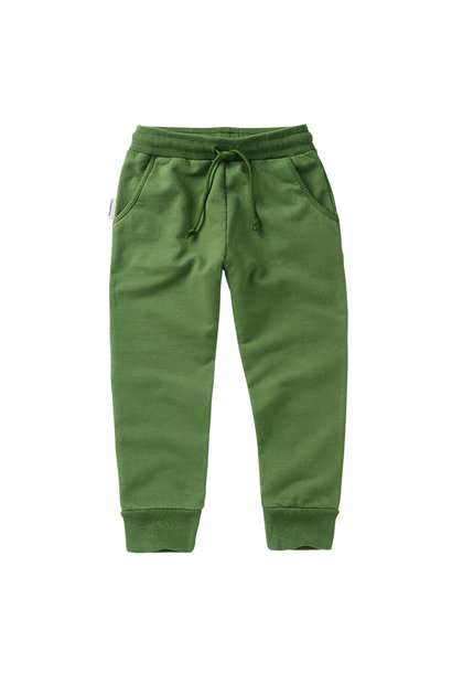 Slim fit jogger - Moss Green