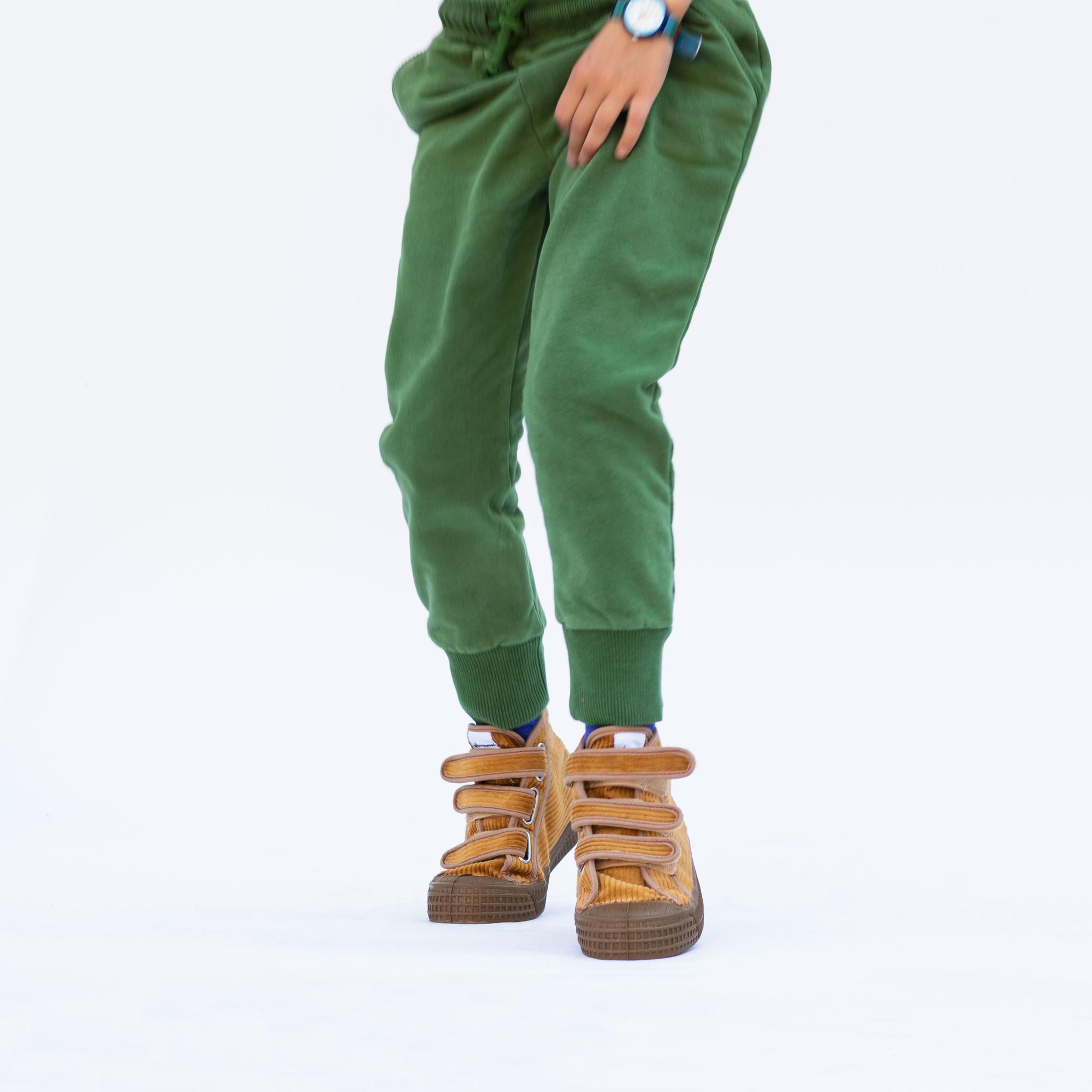 Slim fit jogger - Moss Green-4