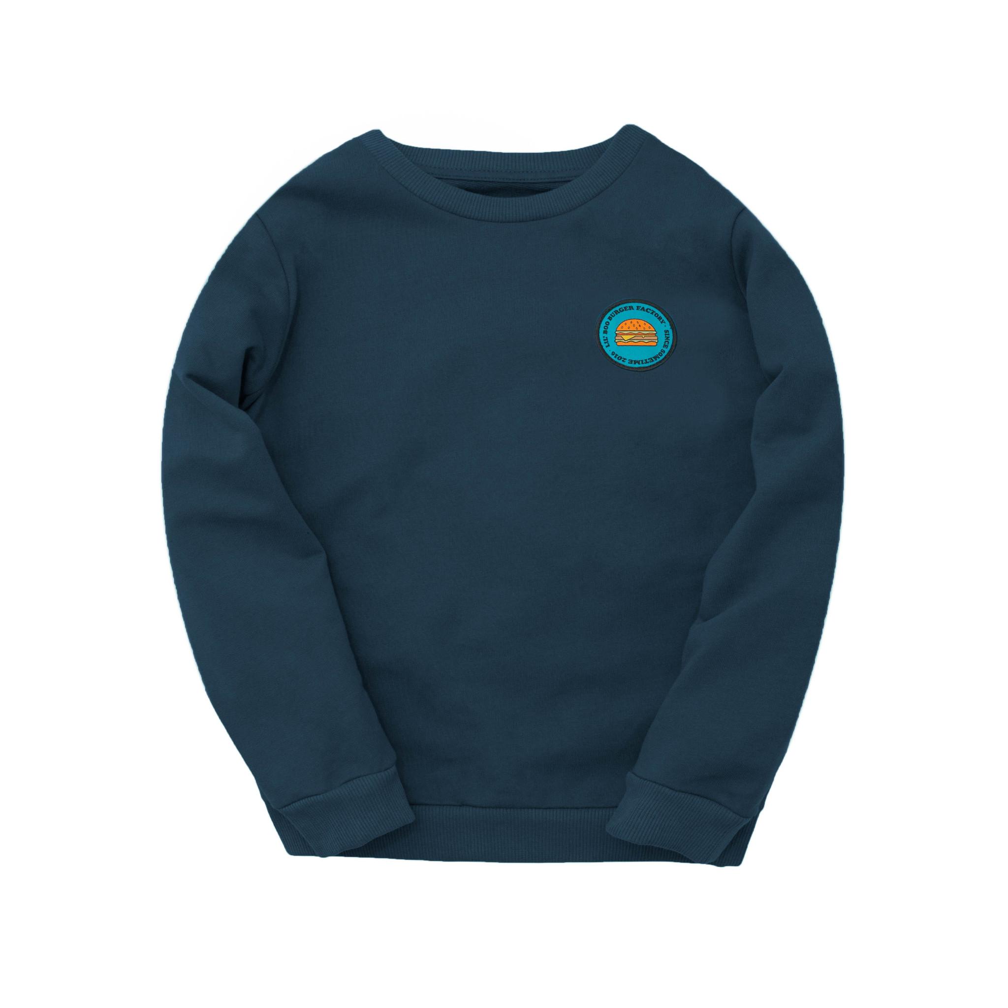 Sweatshirt - Burger Factory Navy-1