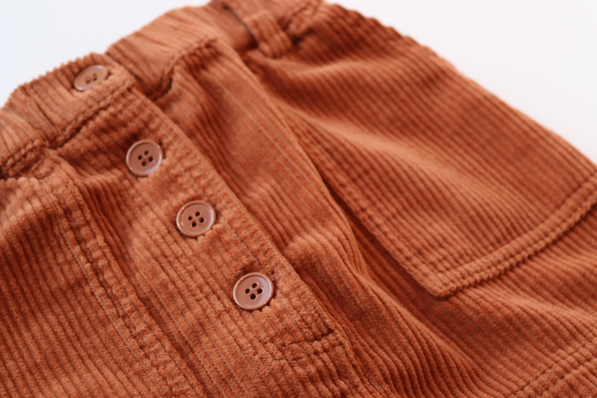 Garance skirt - Baked Clay-3