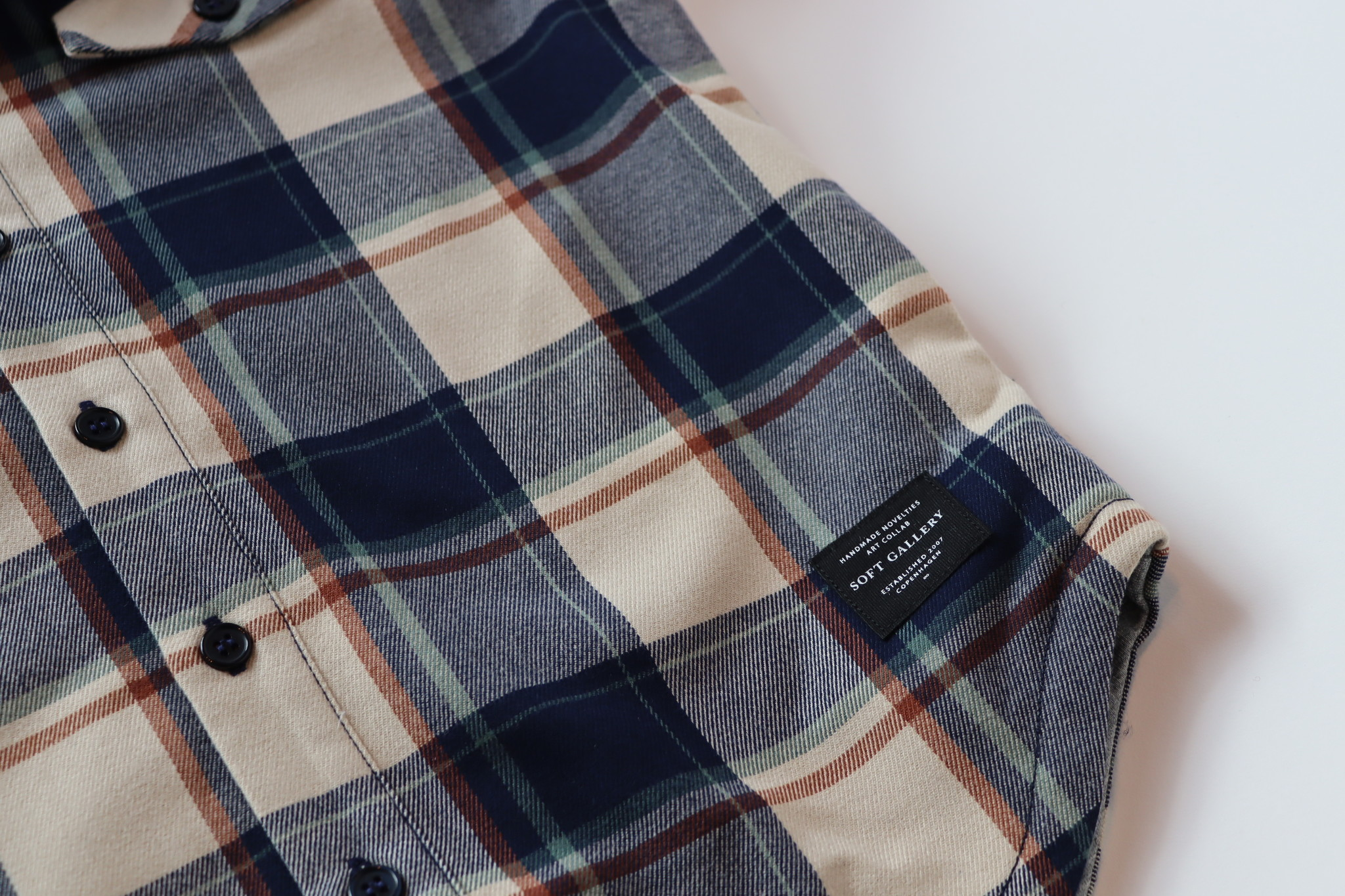 Emerson shirt - Green Check-4