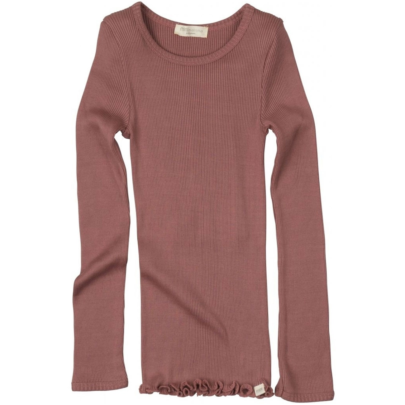 Bergen long sleeve T-shirt - Antique Red-1
