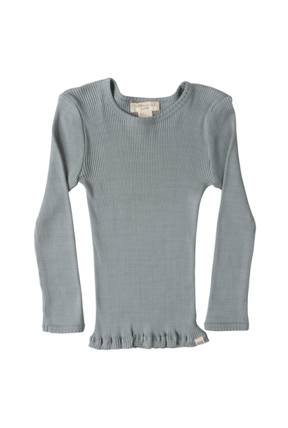 Bergen long sleeve T-shirt - Pale Jade