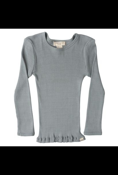 Bergen long sleeve T-shirt - Pale Jade
