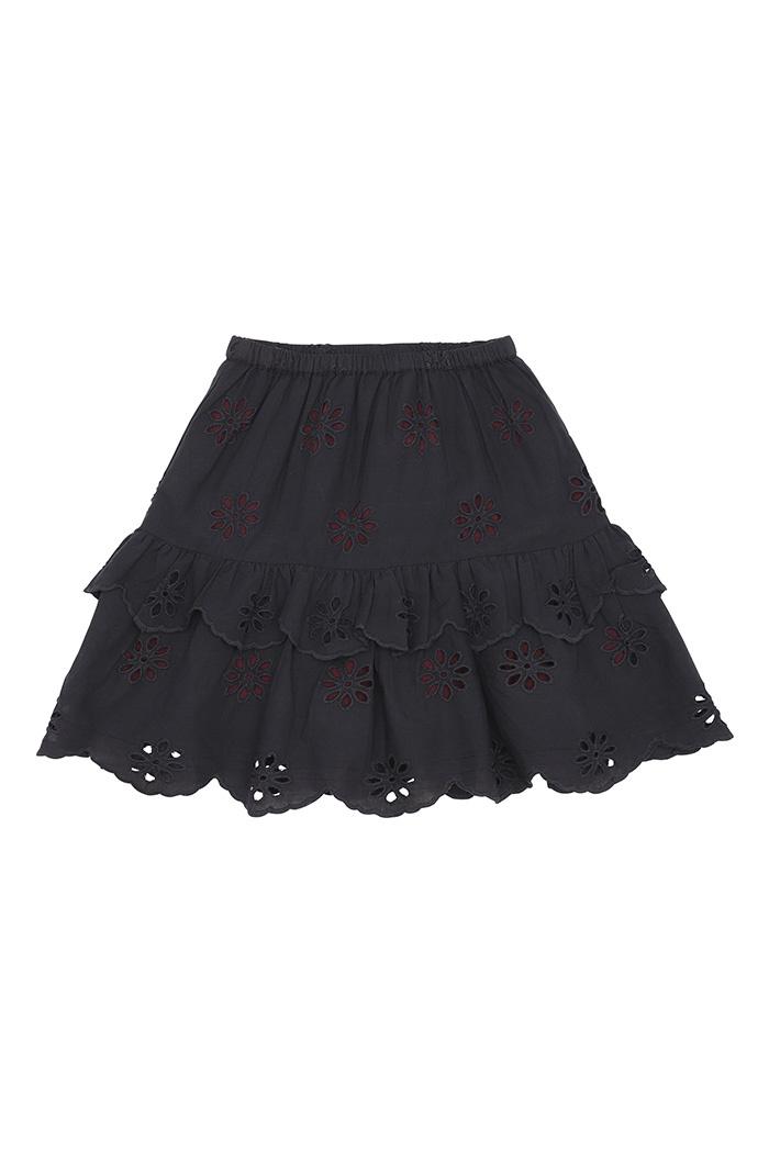 Fern skirt - Anthracite-1