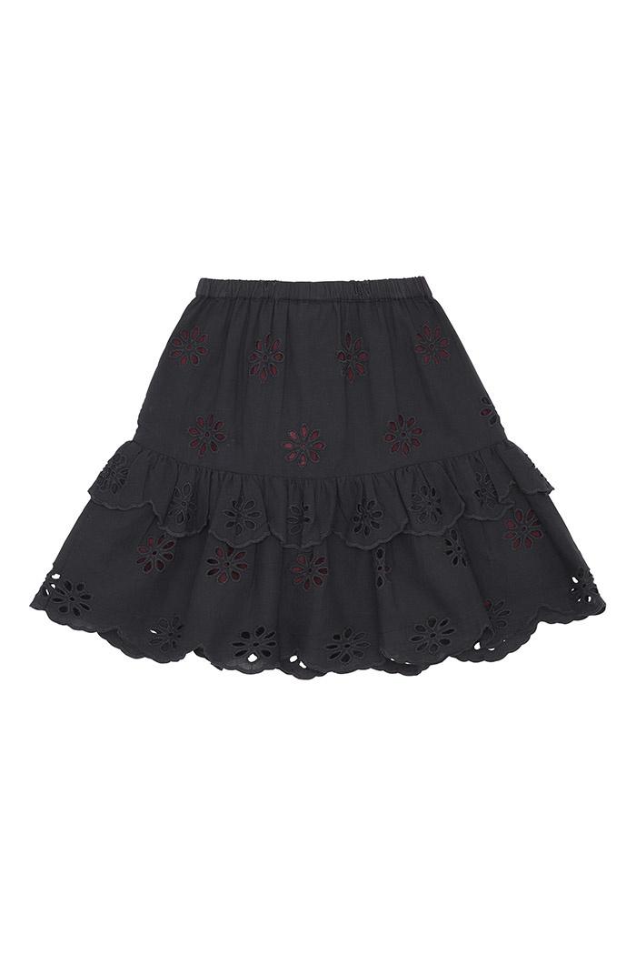 Fern skirt - Anthracite-2
