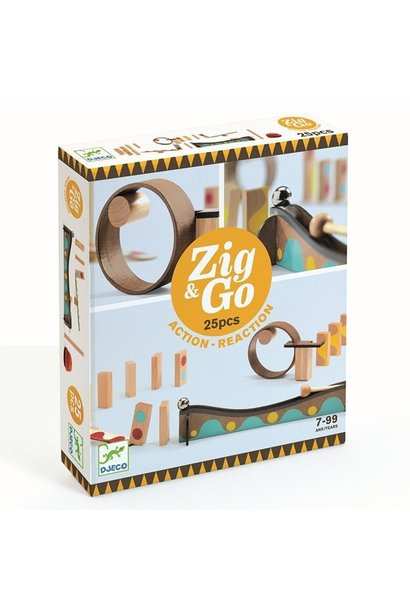 Zig & Go - 25 pieces