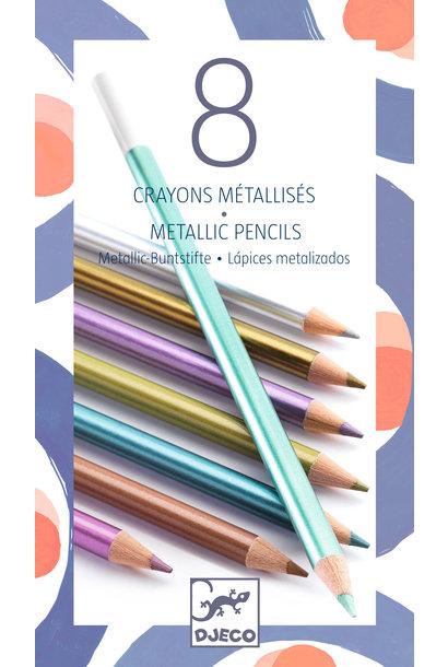 Metallic potloden