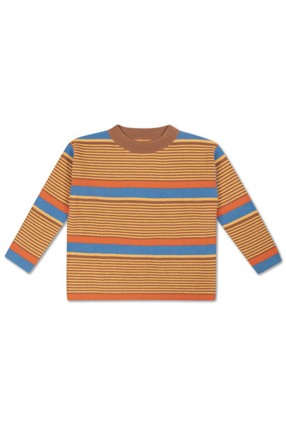 Boxy sweater - Bold Stripe