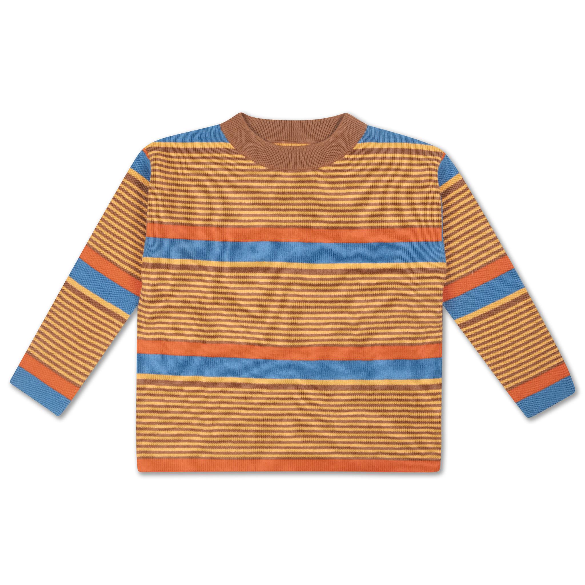 Boxy sweater - Bold Stripe-1