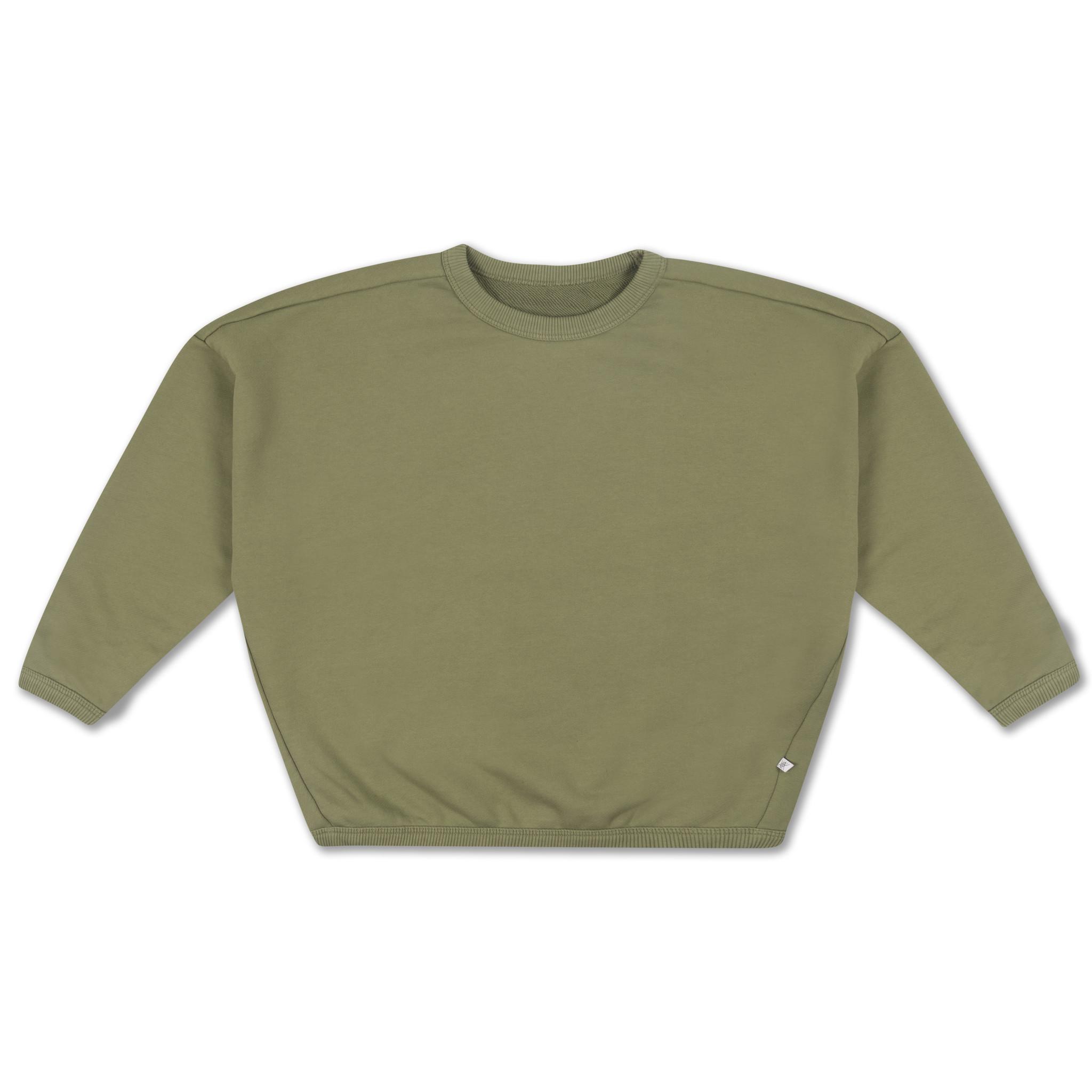 Boxy sweater - Loden Green-1