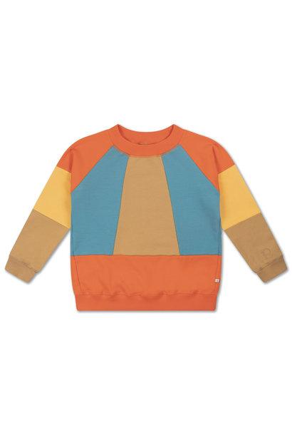 Classic sweater - Color block