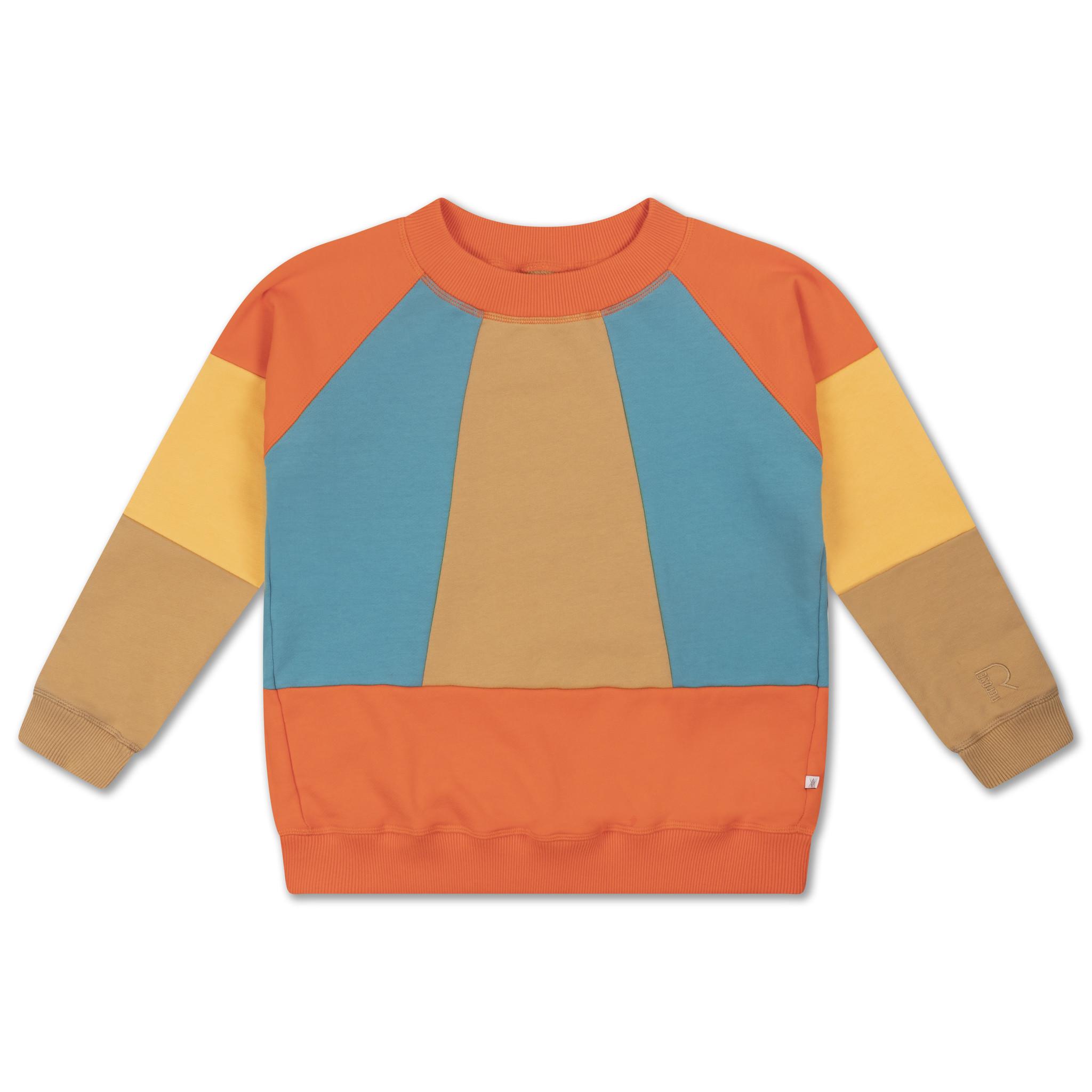 Classic sweater - Color block-1