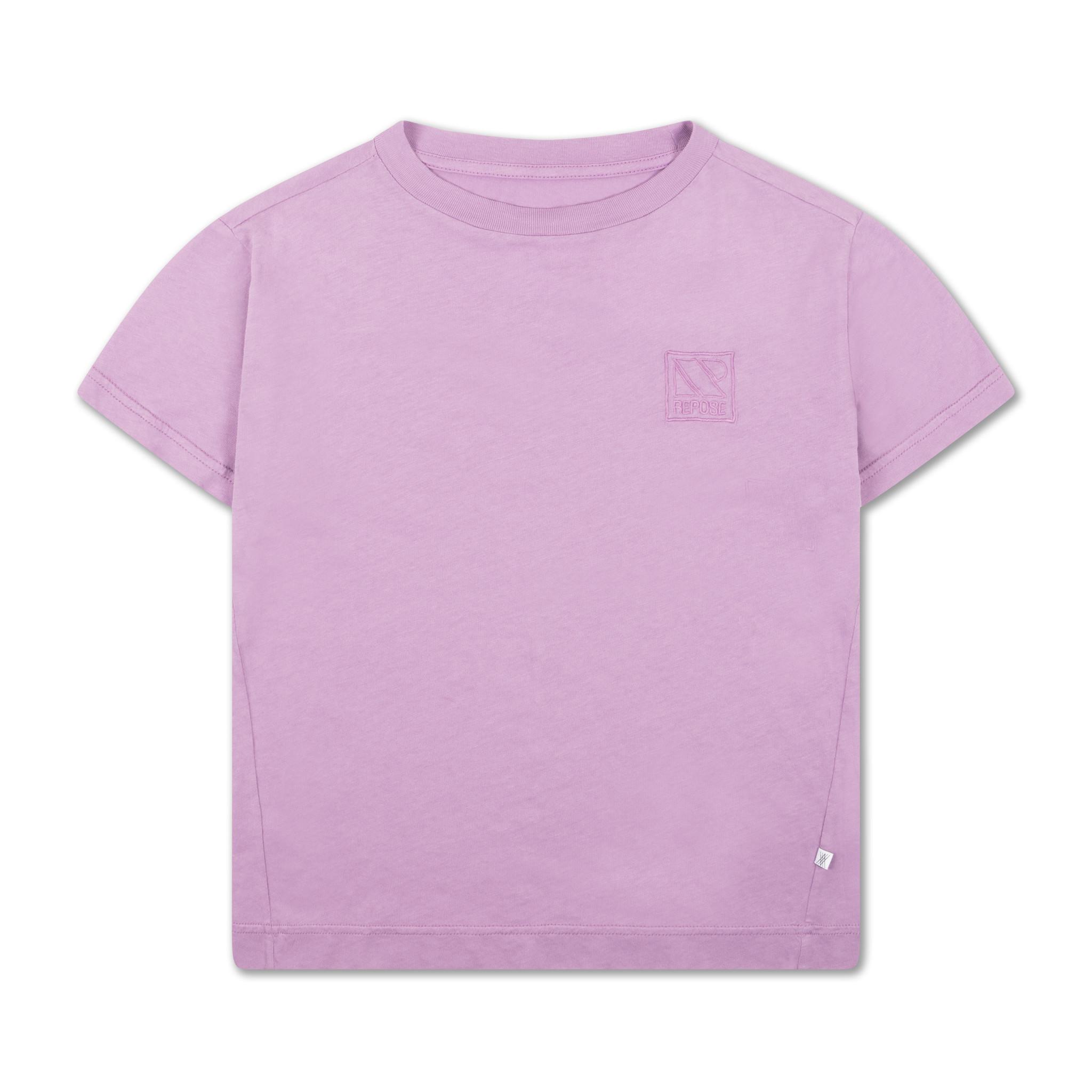 Tee - Greyish Violet-1