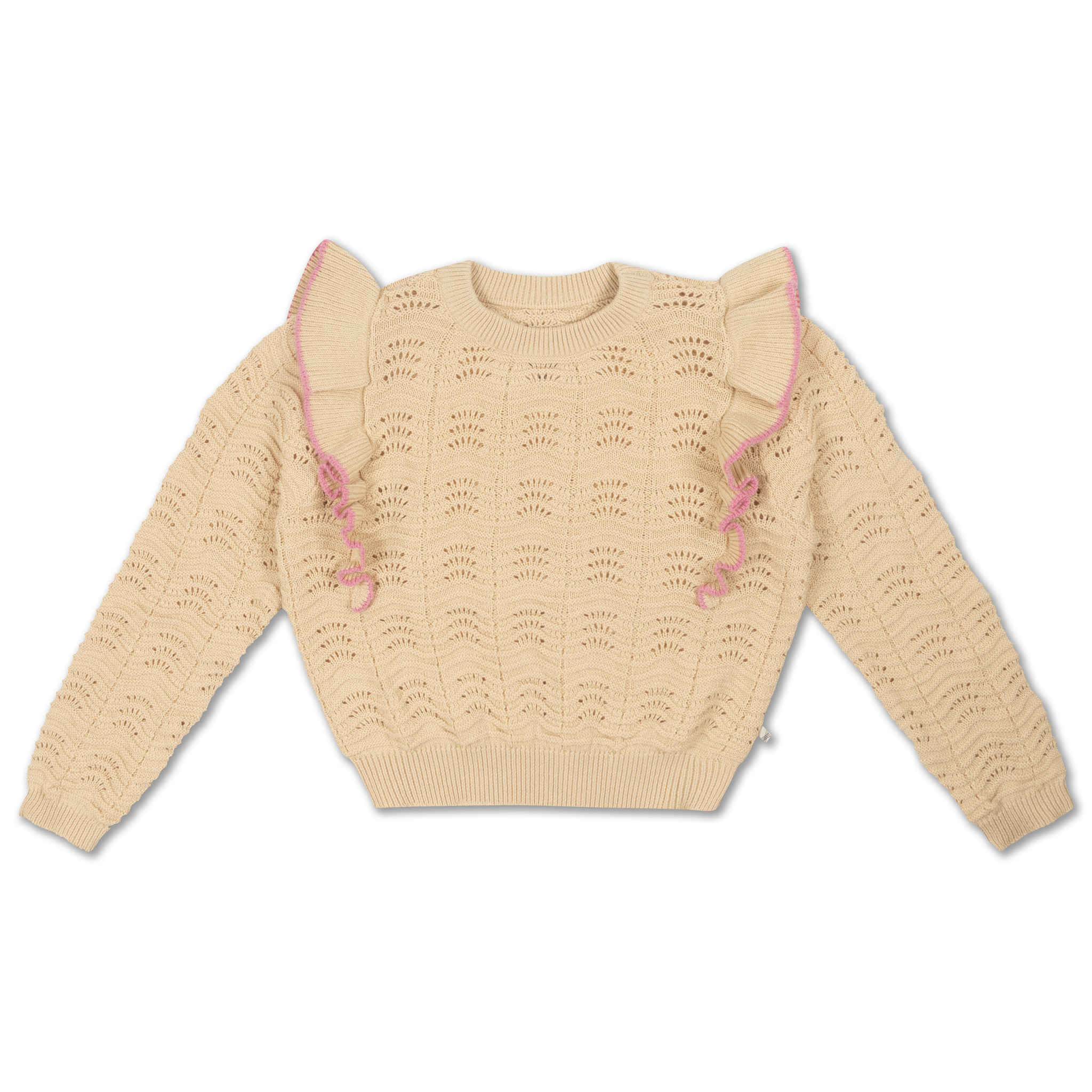 Knit sweater - Vintage White-1