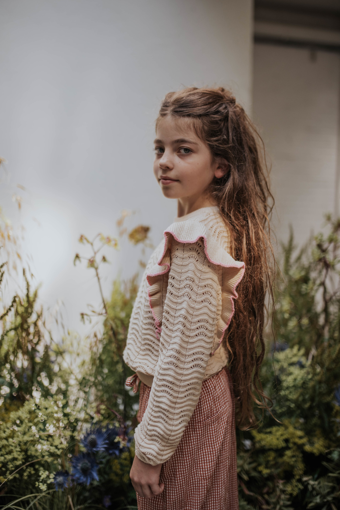 Knit sweater - Vintage White-2