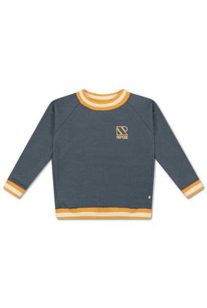 Classic sweater - Greyish Blue