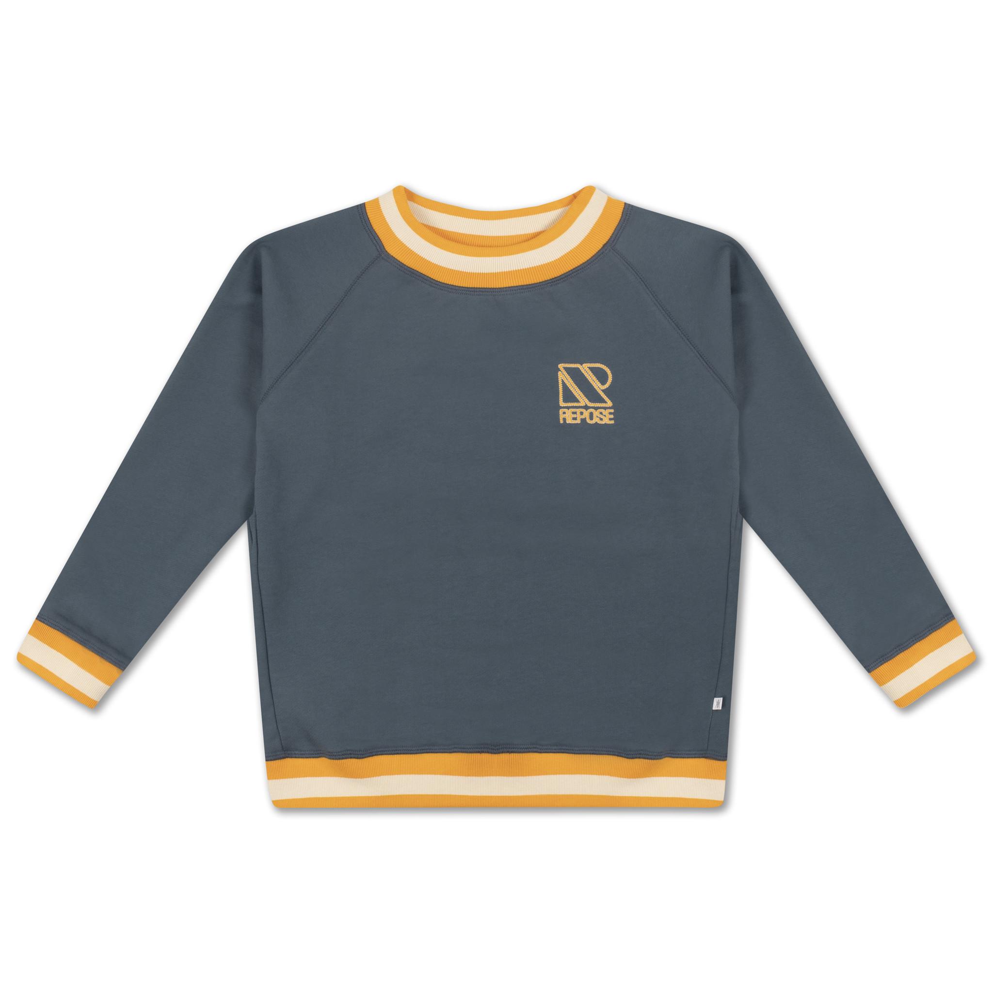 Classic sweater - Greyish Blue-1