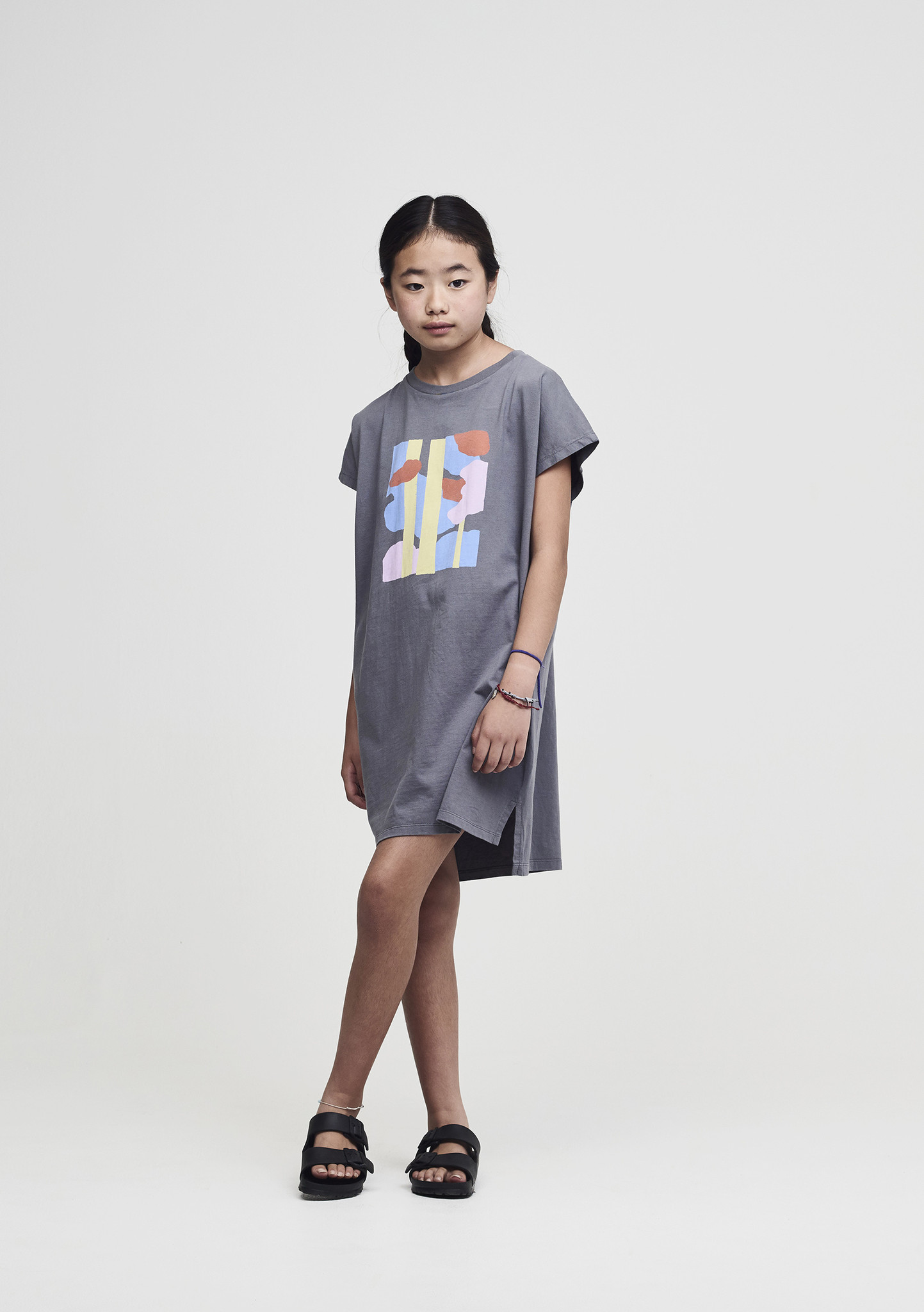 Crew neck dress - Castle Trees-2