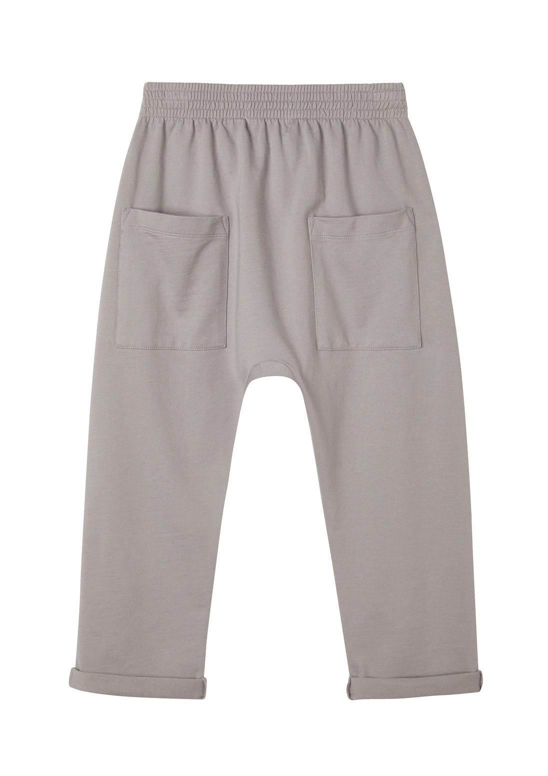 Slouchy sweatpant - Silver Filigree-3