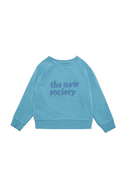 The New Society sweater - Deep Blue