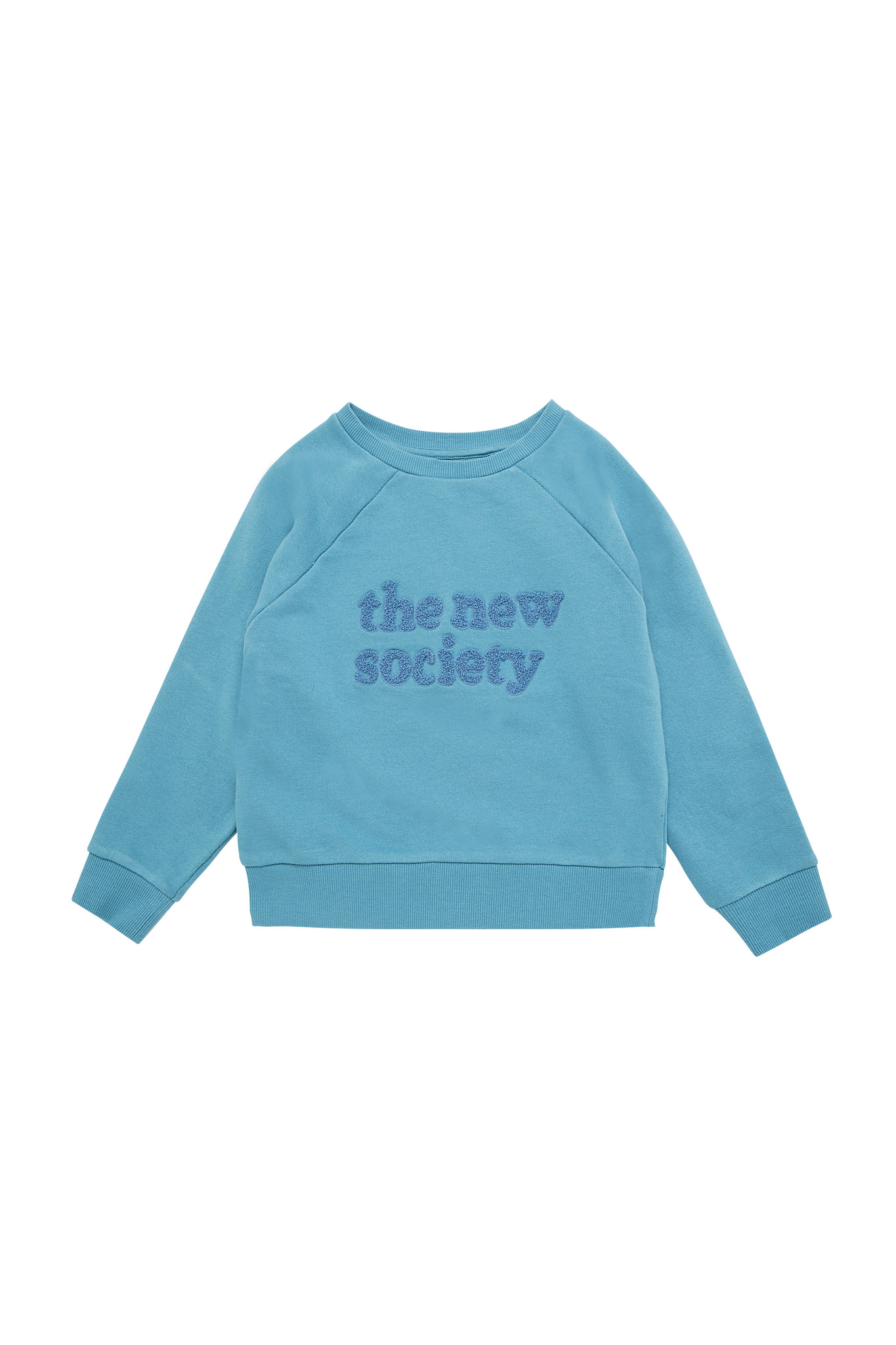 The New Society sweater - Deep Blue-1