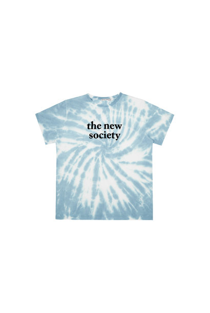 The New Society tee - Deep Blue