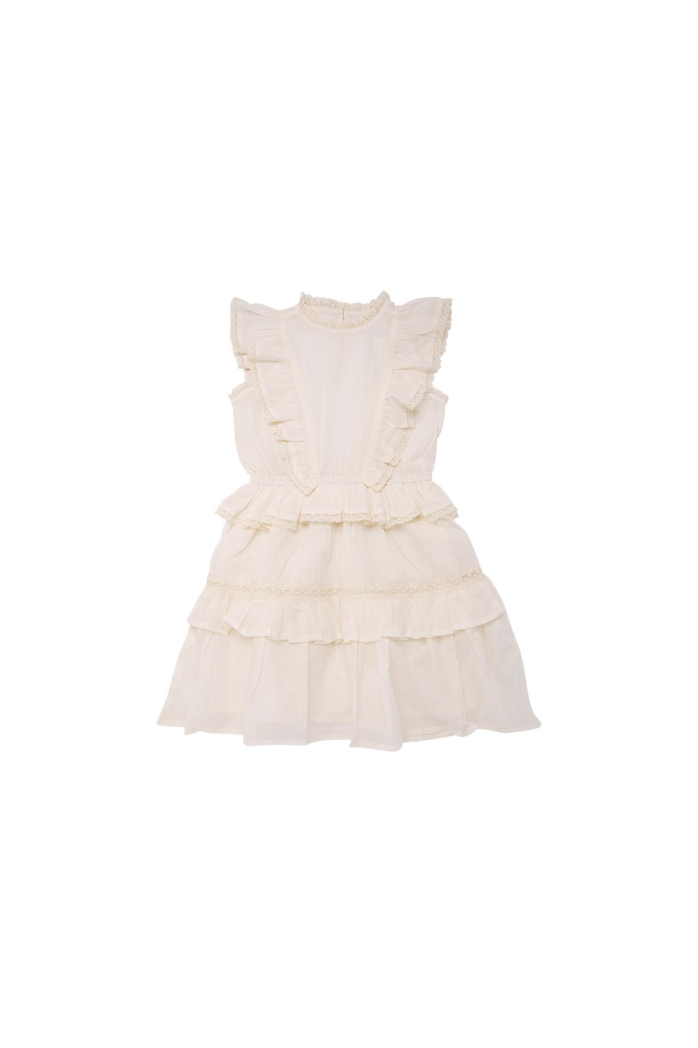 Antonia dress - Off White-1