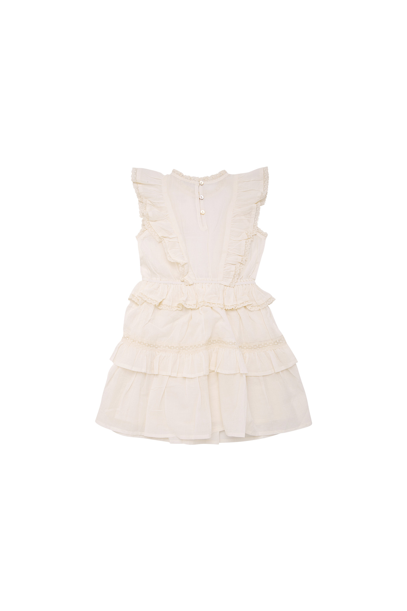 Antonia dress - Off White-2