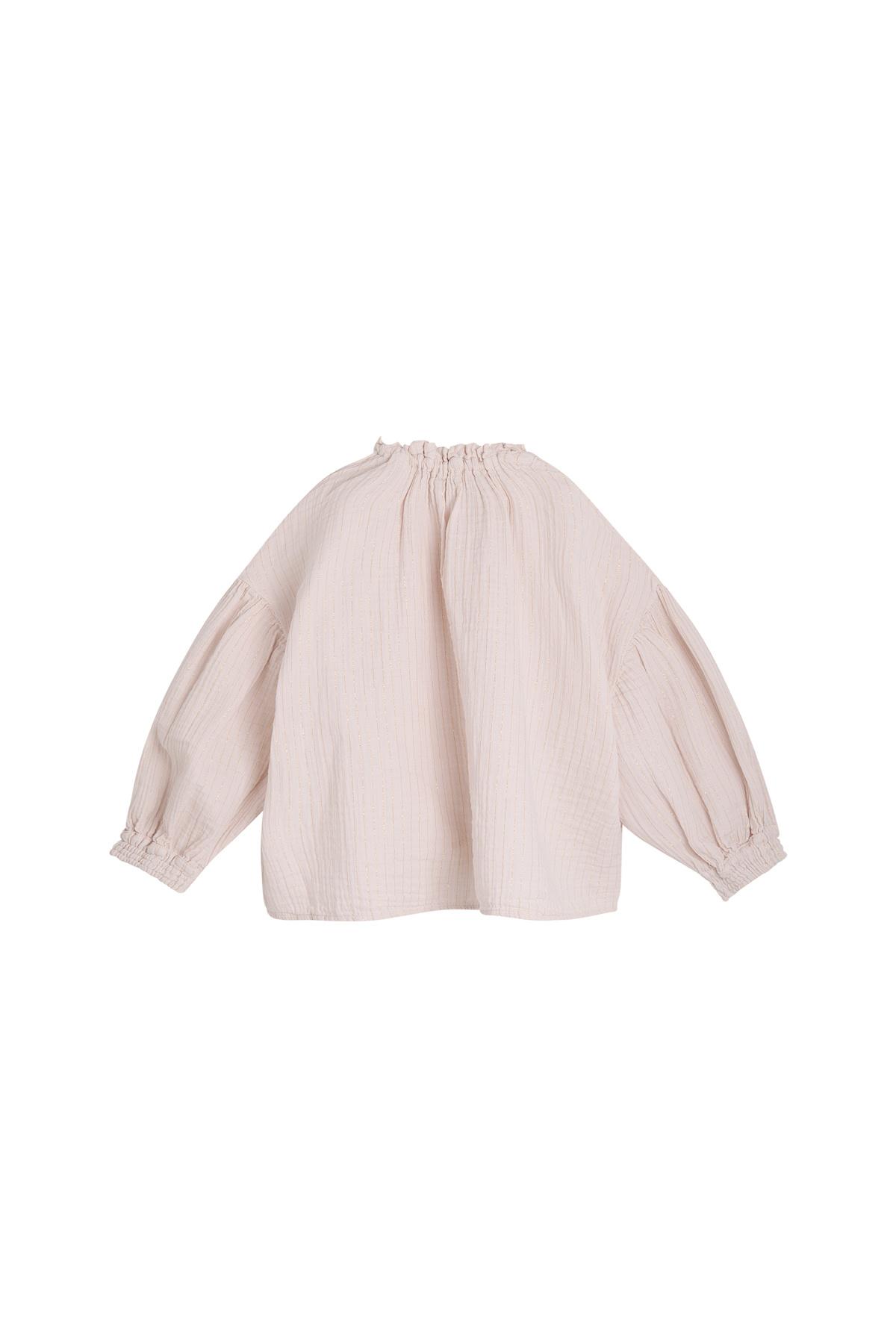 Olivia blouse - Blush-2
