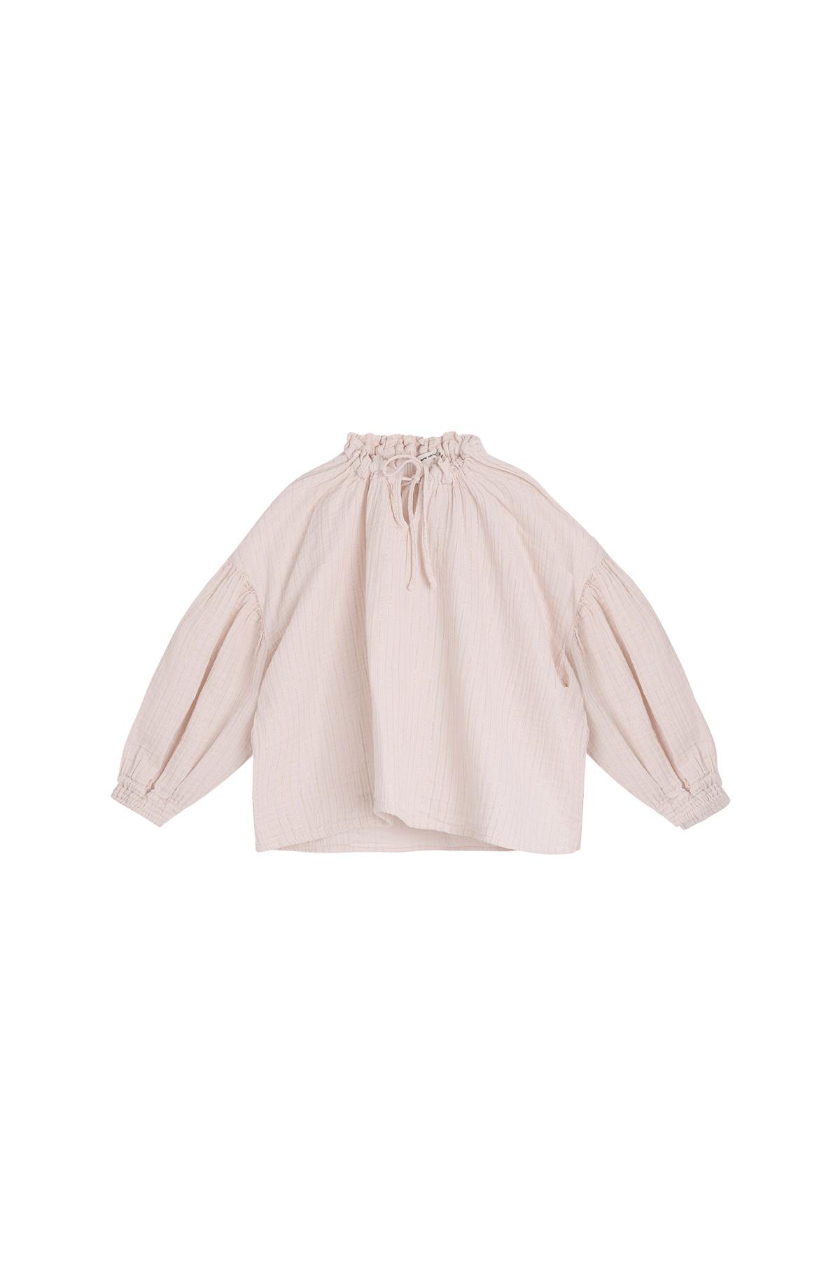 Olivia blouse - Blush-1