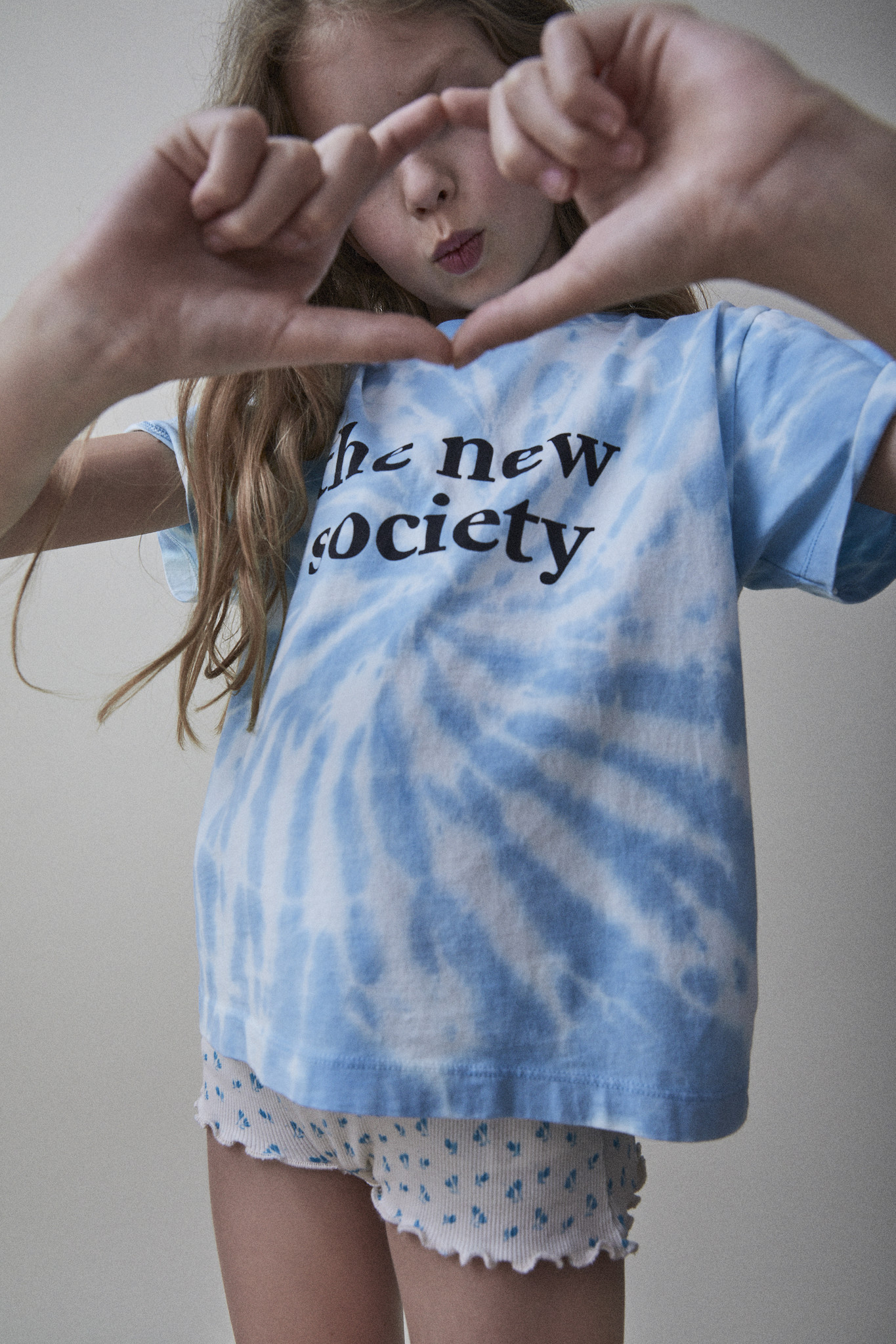 The New Society tee - Deep Blue-2