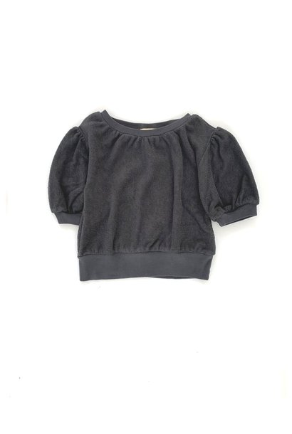Short sleeve sweater - Iron