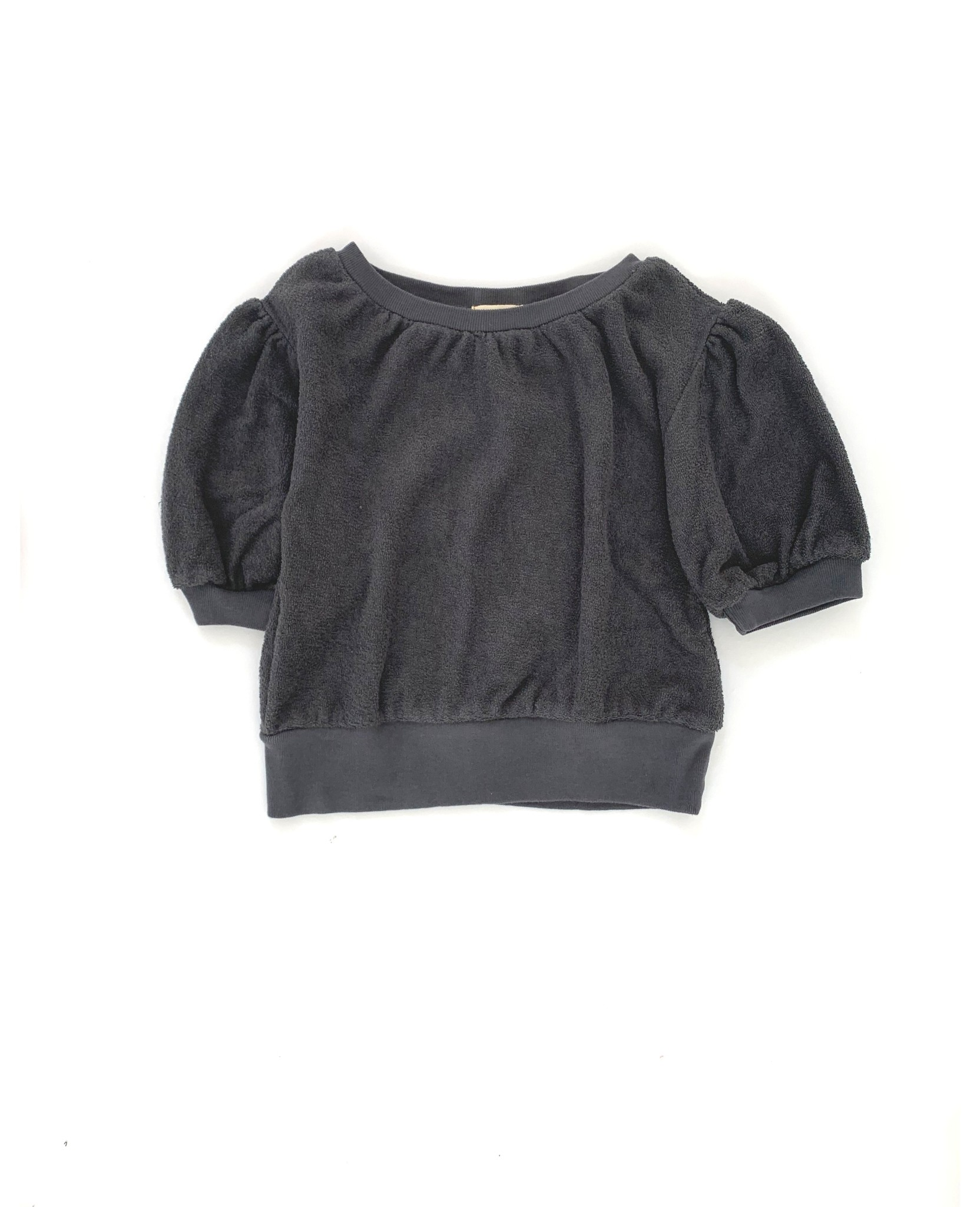 Short sleeve sweater - Iron-1